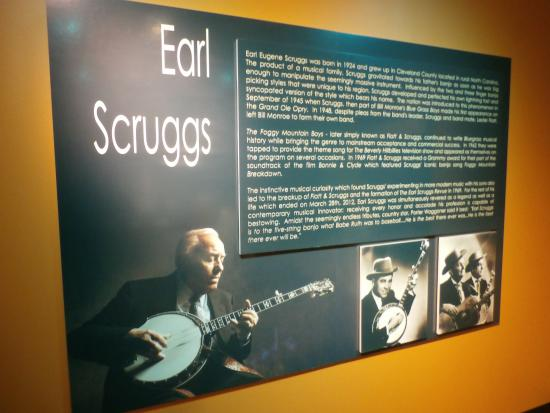Earl Scruggs section - Picture of American Banjo Museum, Oklahoma