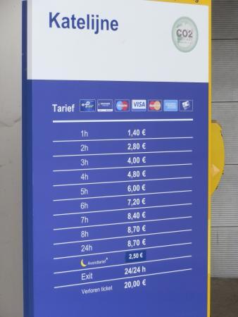 Ibis Brugge Centrum : Parking prices