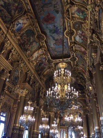 باريس, فرنسا: The foyer area