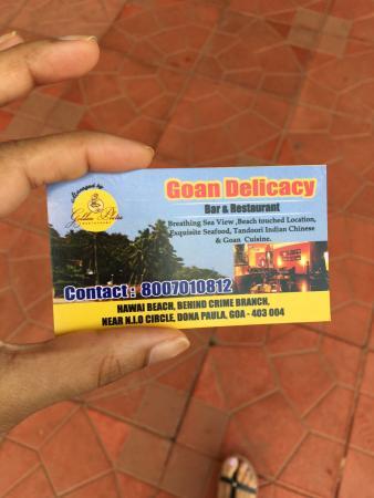 Goan Delicacy