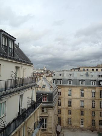 View from Deluxe Room to Valois Square