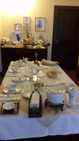 B&B Nottedi : Breakfast table
