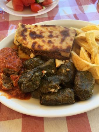 Amazing real home cooked Greek food
