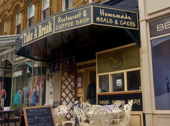 Take A Break Cafe: Take A Break, Llandudno