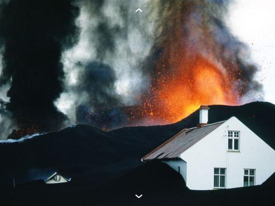 Volcano House : Heimaey 1973