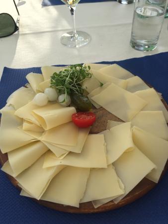 Restaurant Schutzenhaus: Hobelkäse