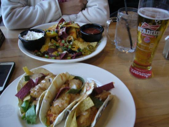 Boston Pizza: Comida mejicana