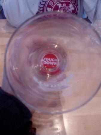 Boston Pizza: Touch Dawn al final del vaso!!!