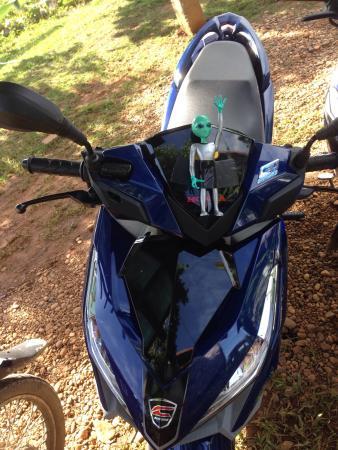 Mad Monkey Motorbike