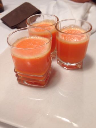 Casa Martin: Sorbete de mandarina