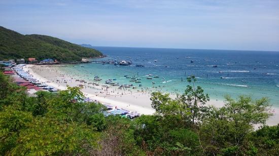 Ko Lan, Tailandia: Left side