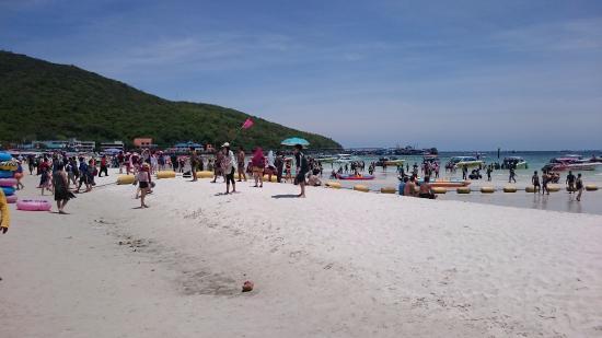 Ko Lan, Tailandia: A quieter section