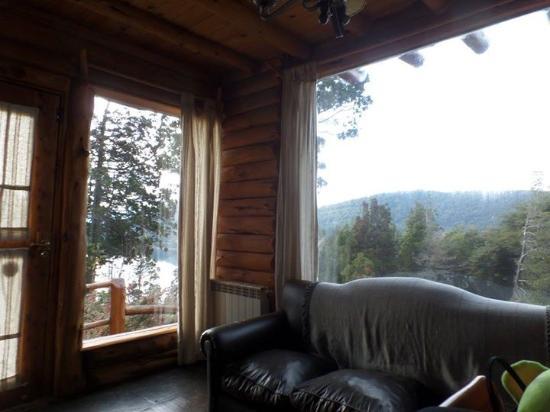 Cabanas Terrazas del Campanario: Vistas desde la sala.