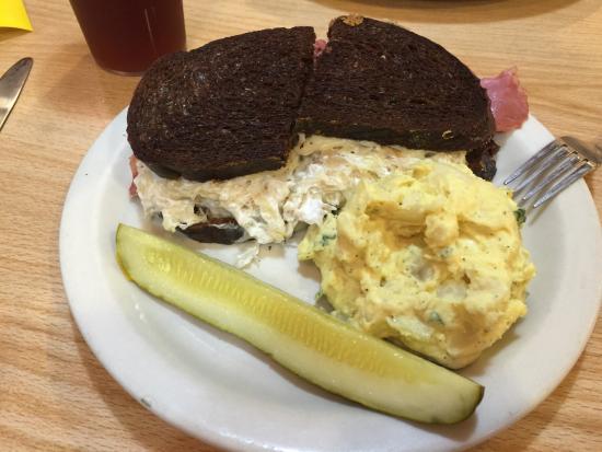 Cecil's Delicatessen & Bakery: Rueben & Potato Salad