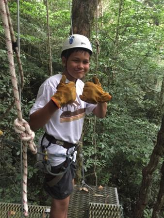The Original Canopy Tour : Awesome day zip lining!