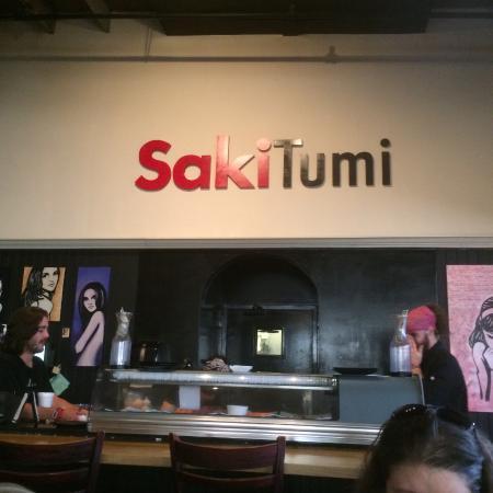 Saki Tumi Grill & Sushi Bar: Sushi bar