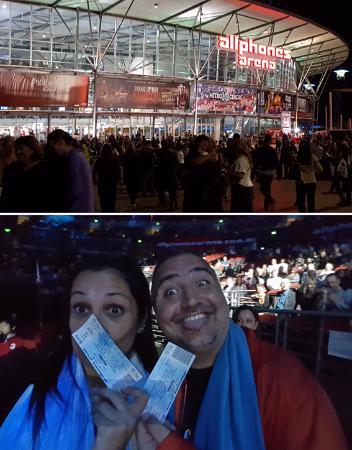 Qudos Bank Arena RHT Madonna Marzo 2016