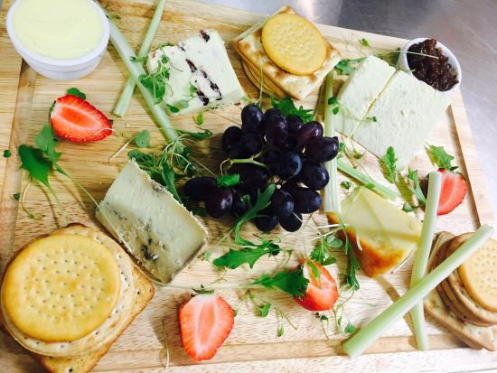 Egerton, UK: Cheese Board