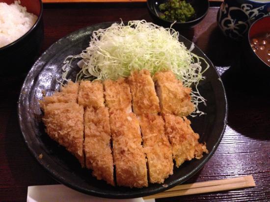 Musashino: 肥後あそび豚ロース定食