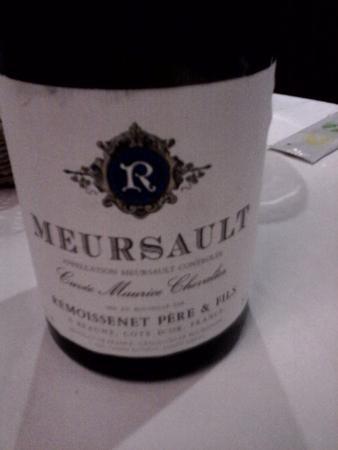 Brasserie Jules: Le meursault à boire avec modération..