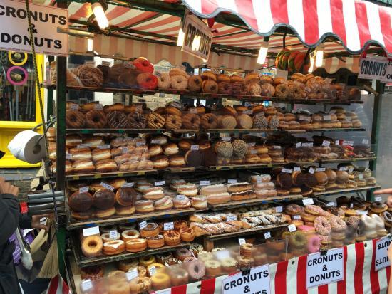 Camden Market: Heaven/diabetes on a stand...