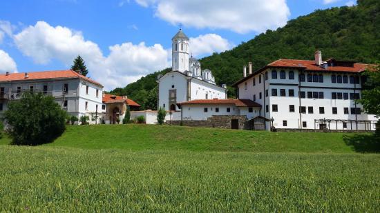 Prohor Pcinjski: Monastery view