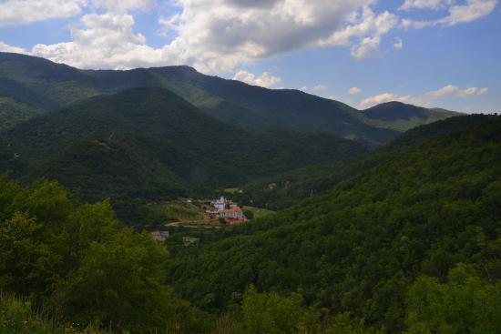 Prohor Pcinjski: view from road