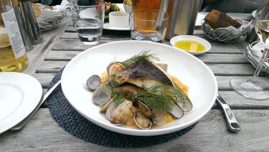 St Mawes, UK: Рыбное блюдо, не запомнила название