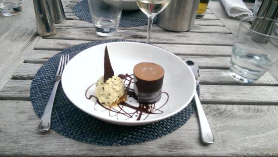 St Mawes, UK: Шоколадное парфе