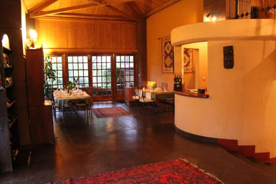 Ngurdoto Lodge: Bar en restaurant gedeelte