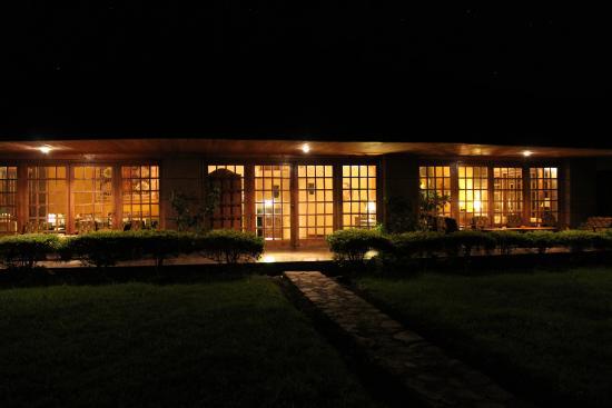 Ngurdoto Lodge: Wanneer het donker is