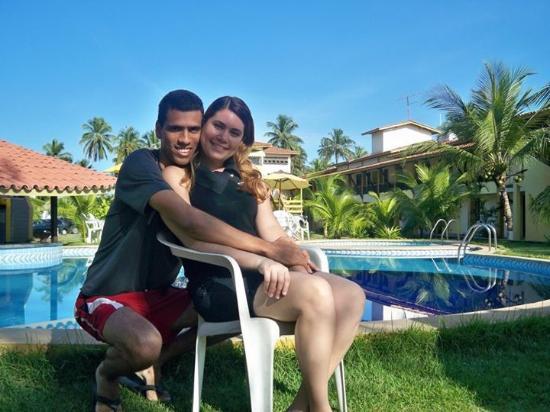 Guaibim, BA: Foto na parte da piscina do hotel