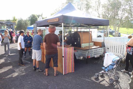 เกาะไวเฮเก, นิวซีแลนด์: Market Place on a Saturday morning