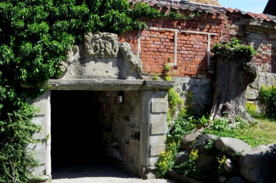 لوند, السويد: The underpass from one side of Kulturen to the other.