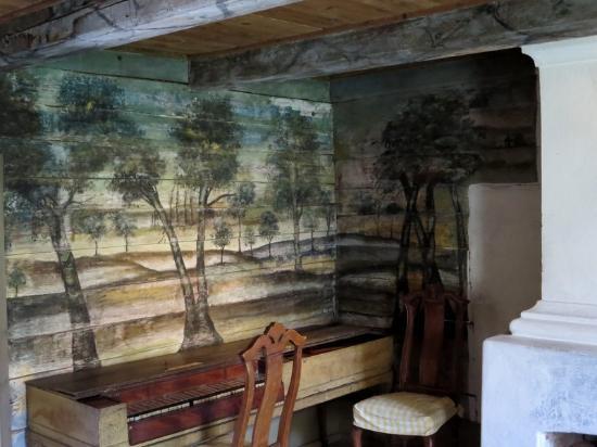 لوند, السويد: The parlor of the pastor's house, Kulturen.