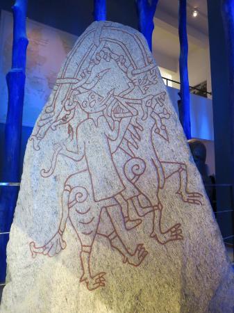 لوند, السويد: A runestone at Kulturen.