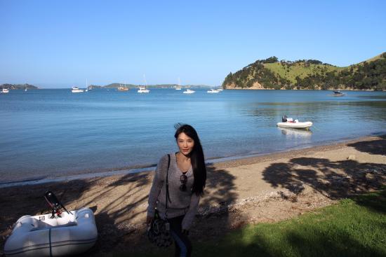 เกาะไวเฮเก, นิวซีแลนด์: Man O'War Bay