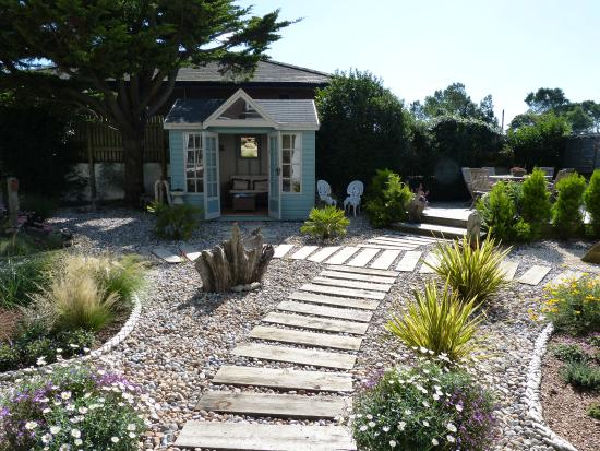 The Old Vicarage at Rye Harbour: Summerhouse