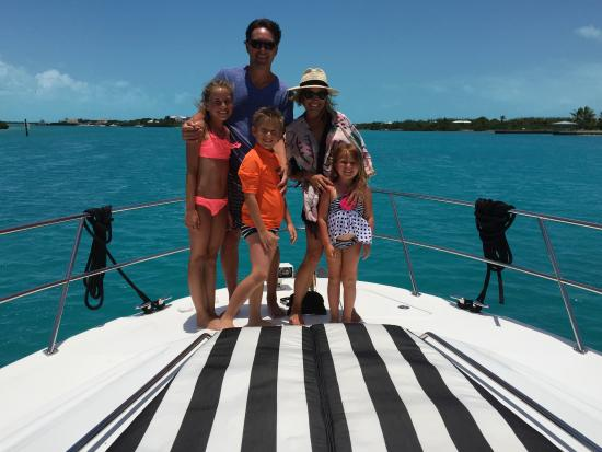 Beaches Turks and Caicos Resort Villages and Spa: On the Sea Dancer private boat which was so worth the money!