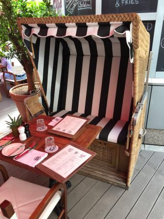 Es Bisztro Nice Beach Chair From Northern Germany