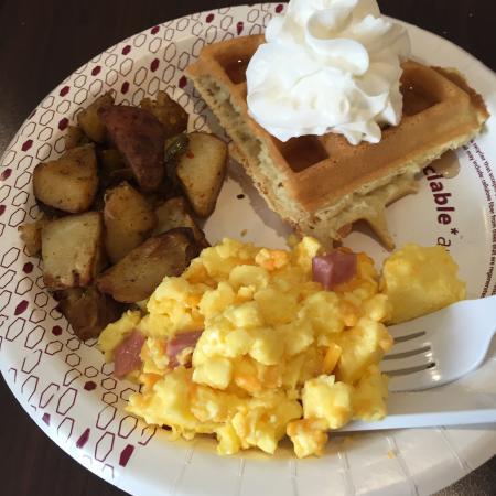 Waynesburg, بنسيلفانيا: Breakfast
