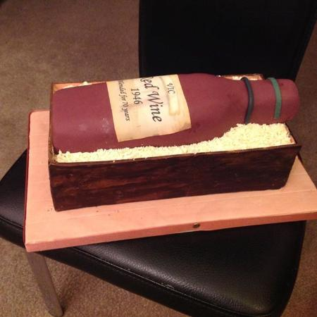 Salisbury Arms Hotel: Cake