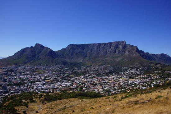 Cape Town Central, Afrika Selatan: Blick vom Signal Hill