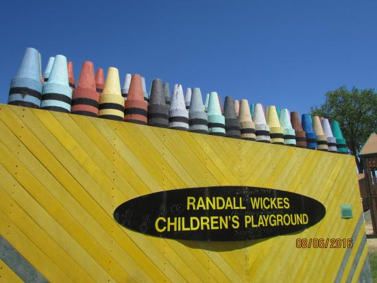 Randall Wickes Children's Playground: Giant Crayon Box