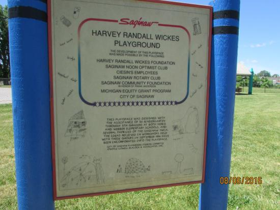 Randall Wickes Children's Playground: Playground Wish List from area children