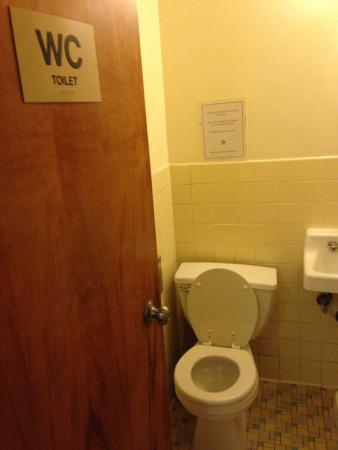 Seafarers & International House: shared toilet