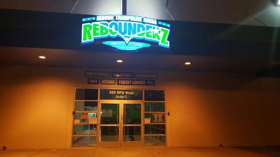 Rohnert Park, كاليفورنيا: Rebounderz Indoor Trampoline Park