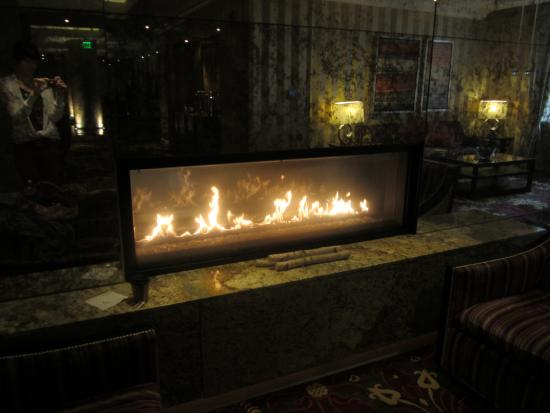 Kimpton Hotel Monaco Baltimore Inner Harbor: Inviting fireplace