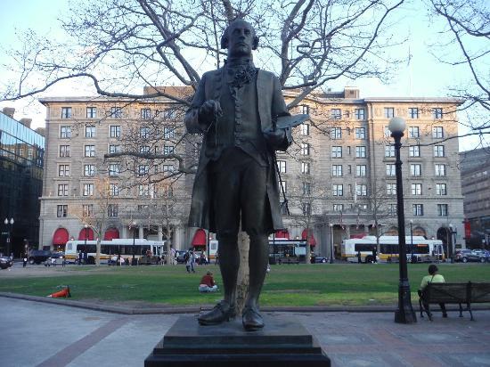 John Singleton Copley Statue