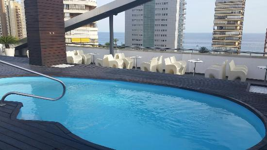 Very small swimming pool picture of hotel agir benidorm - Hotels in alicante with swimming pool ...